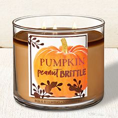 Shop The World's Best Candles on sale. Fill your home with your favorite scented candles fragrances from Bath & Body Works Bath Candles, 3 Wick Candles, Scented Candles, Candle Jars, Bath Body Works, House Smell Good, Peanut Brittle, Candle Companies, Tea Lights
