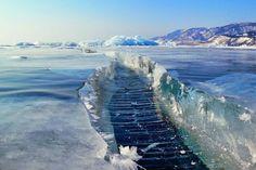 Baikal Lake | The Amazing Frozen Lake – Baikal Lake, Russia