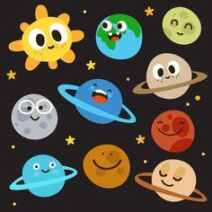 Αποτέλεσμα εικόνας για αυτοκολλητα τοιχου πλανητες