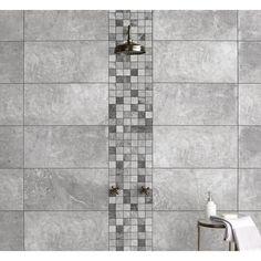White and Silver Bathroom Ideas . White and Silver Bathroom Ideas . Unique White and Silver Bathroom Ideas Abandofwives Grey Wall Tiles, Silver Bathroom, White Bathroom Tiles, Mosaic Bathroom, Wall And Floor Tiles, Bathroom Wall, Bathroom Ideas, Mosaic Tiles, Bathtub Ideas