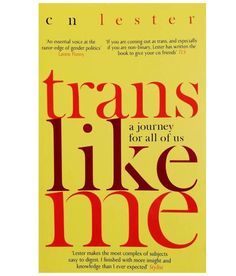 In this eye-opening book, CN Lester, academic and activist, takes us on a journey through some of the most pressing issues concerning the trans debate: from pronouns to Caitlyn Jenner; from feminist and LGBTQ activists, to the rise in referrals for gender variant children - all by way of insightful and moving passages about the author's own experience. Trans Like Me shows us how to strive for authenticity in a world which often seeks to limit us by way of labels. Gender Politics, Feminist Books, To Strive, It's Meant To Be, Activists, Transgender, Nonfiction, Authenticity, Books To Read