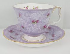 Royal Albert True Love Tea Cup & Saucer Fine Bone China England
