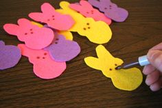 These will make great place setting markers for Easter dinner.