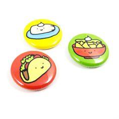 Fiesta Food Button Set