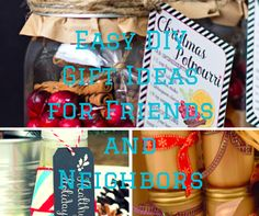 Easy DIY Gift Ideas for Friends and Neighbors