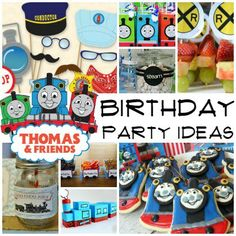 Preschoolers love Thomas the Train. Make their next birthday party one they'll love with these awesome ideas. If you have a preschooler, there's a good chance you're really familiar with Thomas the Train and his island full of friends. That's why we've come up with this awesome list of 25 Thomas The Train Party Ideas. From decorations to party favors to snacks and activities, we've got you covered! So stay on the right track and go full steam ahead with that party. Have fun! 25 Thomas The…