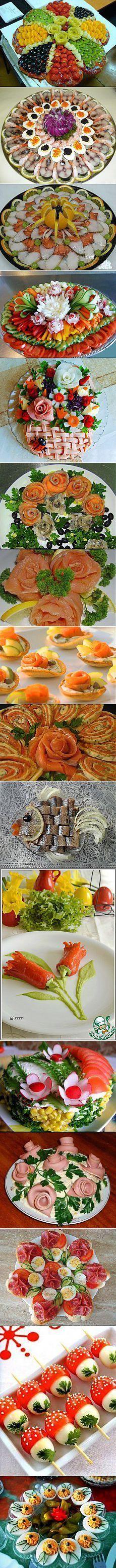 Украшенния блюд | Фотографии и советы на Постиле