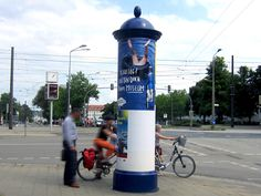 #Litfaßsäule #Rostock