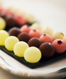 bonbons at El Celler de Can Roca - Girona, Spain