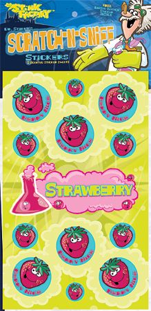 Dr Festive Fun Stinky/'s Christmas//Xmas Theme Scented Scratch-N-Sniff Stickers