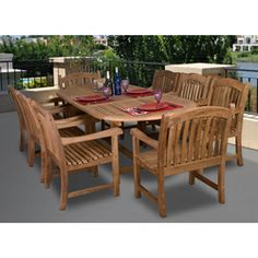 Garden Cottage  Round Teak Dining Set Garden Cottage Teak Pinterest Garden Cottage Teak And Tables