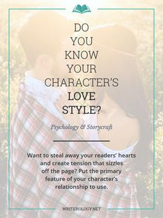 Want to steal away your readers' hearts and create tension that sizzles off the page? Understanding the primary feature of your characters' relationships can help you do just that.   http://Writerology.net