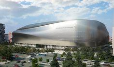 Uno de los laterales del nuevo estadio