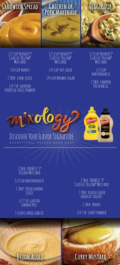 Mustard Mixology: Mix up one of these 5 recipes and treat yourself to a new flavor every day.