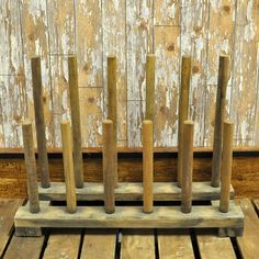 Rustic Farmhouse Wooden Wellington Boot Stand