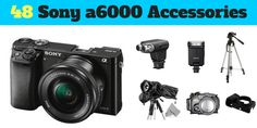 Mad list of Sony a6000 accessories: Bags, External flash and mic, tripod, lenses, filters, cleaning, protection and much much more, Read the article here http://nikond3200news.blogspot.com/2016/10/guide-to-sony-alpha-a6000-accessories.html