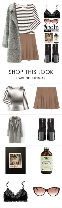 """""""shein"""" by end-of-the-day ❤ liked on Polyvore featuring Margaret Howell, rag & bone, Polaroid, Eberjey, Alexander McQueen, Sheinside and shein"""