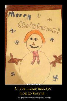Chyba muszę nauczyć mojego kuzyna... – ...jak poprawnie rysować płatki śniegu