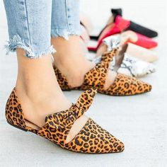 9d76aabd7f7d9 Chic Style Casual Bow Flat Shoes