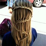 wish my hair was long enough to do this!