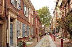 Fun photos of Elfreth's Alley in Philadelphia : Places : BOOMSbeat