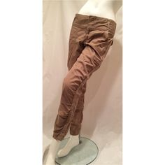 """SALEAtheta Skinny Athletic Pants 6 Atheta Skinny Hiking Walking Athletic Khaki Beige Pants 6 Waist 16"""" flat  Inseam approx 30"""" (difficult to measure fabric)   Excellent Preowned condition  No wear or flaws Quality fabric and construction Athleta Pants Skinny"""