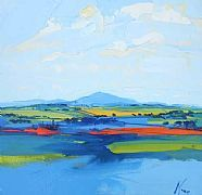 Ben Ledi by Peter King part of our Scotsmen exhibition in Long Melford gallery from 9.2.13 www.limetreegallery.com