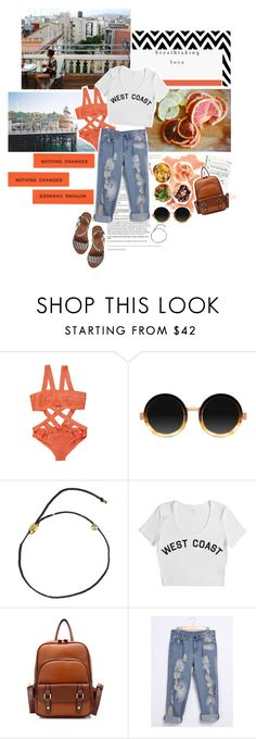 """but you just might find... you just might find..."" by earthquaker ❤ liked on Polyvore featuring Prada, Moscot, Scosha, Stampd and Alice + Olivia"