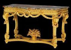 """""""Regal Louis XIV gilt console table"""""""