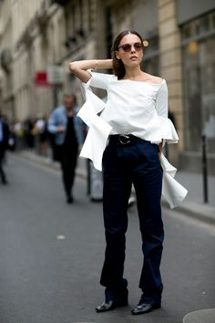 brilliant. Evangelie in Paris. #StyleHeroine