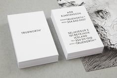 Freytag Anderson – Brand identity for Icelandic film production and event management company Truenorth