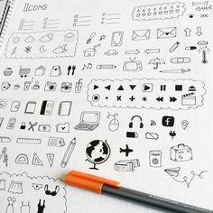 Resultado de imagen para doodles para apuntes