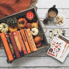 What are your favorite books to read when it's cold outside?