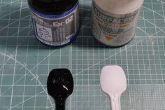 Mr.カラー・ガイアカラーのシルバー塗料各種を比較してみました。 | ガンダムブログはじめました