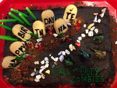 Call of Duty Zombies cake
