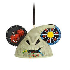 Oogie Boogie Ear Hat Ornament Tim Burton's The Nightmare Before Christmas - Christmas sack, Item No. 7509055880095P, $22.95