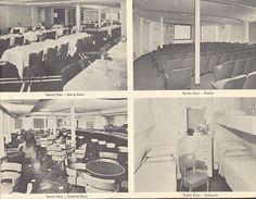 Interior of SS United States