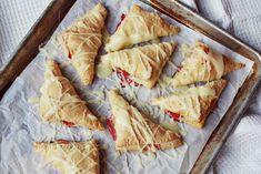 rhubarb pastries