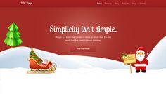Check out DW One Page Christmas - WP Theme by designwall_com on Creative Market