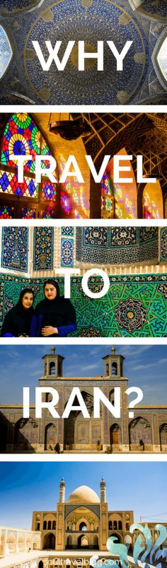 Why travel to Iran? Iran has been branded by the west for decades but travel to Iran shows a completely different side of the story: click to read on for the treats that Iran has in store for those who travel there! Pin this post to one of your boards to save it!