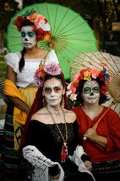 Day of the Dead costumes | Flickr - Photo Sharing!