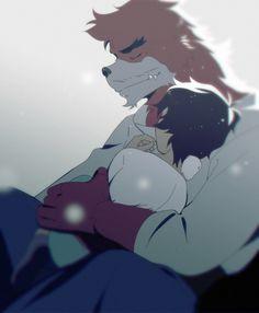 The Boy and the Beast #Kumatetsu #Kyuta (by Daniiux)