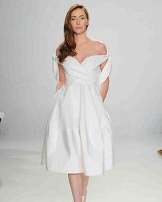 4a959297df6b4 30 Best Short Wedding Dresses images