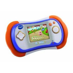 VTech MobiGo 2 Touch Learning System. Recommended age 3 year olds and up. One bright toy, and might be the right one for birthday gift.