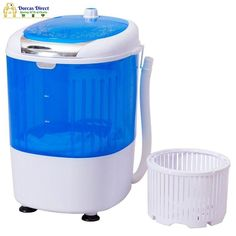 Not Available For Sale Or Use in California. This portable compact washing machine is a perfect solution to doing laundry in a compact environment. You can use it in your apartment dorms etc. This washing machine features a 5.5lbs load capacity for washing your small things such as undergarments socks etc. It can also be used as a dryer. The machine comes with a drainage tube which allows you to easily drain out dirty water. Save water and electricity by only washing what is needed. Try this was Washing Machine Price, Compact Washing Machine, Washing Machine And Dryer, Washing Machines, Digital Pressure Cooker, Electric Laundry, Easy Jobs, Doing Laundry, Save Energy