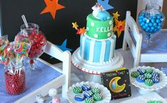 Play. Party. Pin.: Pajama Time 1st Birthday Party Ideas