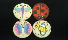 1 Dozen Hand Decorated Spring Bugs Cookies by LochelsBakeryLLC