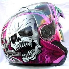 badass helmets | Even More Girly Motorcycle Helmets