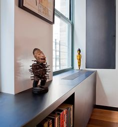 OMG - love this! ~ej The 10 Best Ways To Hide Ugly Home Heaters - Architectural Details | Gallery | Glo