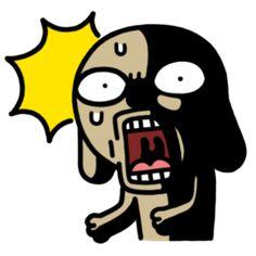 Trọn bộ sticker Chó Nâu siêu bựa